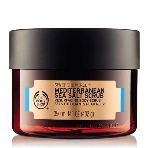 The Body Shop Spa Of The World Body Scrub Sea Salt