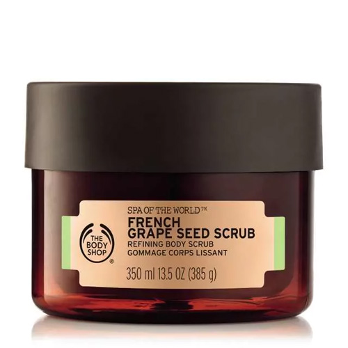 The Body Shop Spa Of The World Body Scrub French Grape