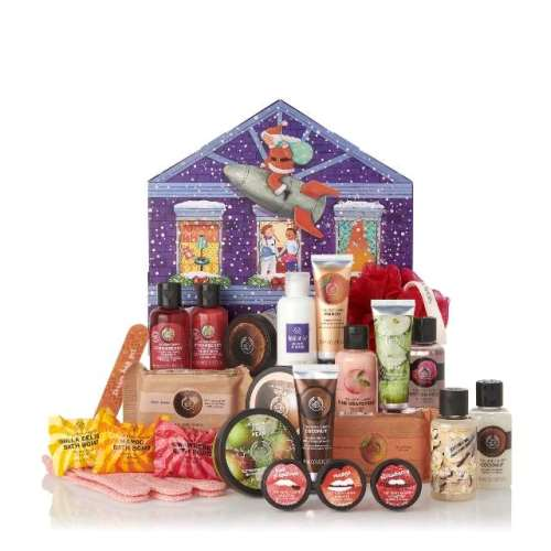 Rich Plum The Body Shop Calendário do Advento