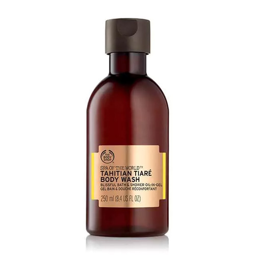 The Body Shop Spa Of The World Body Wash Tahitian Tiare