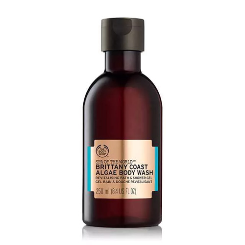 The Body Shop Spa Of The World Body Wash Brittany Coast Algae