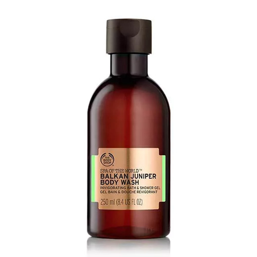 The Body Shop Spa Of The World Body Wash Balkan Juniper