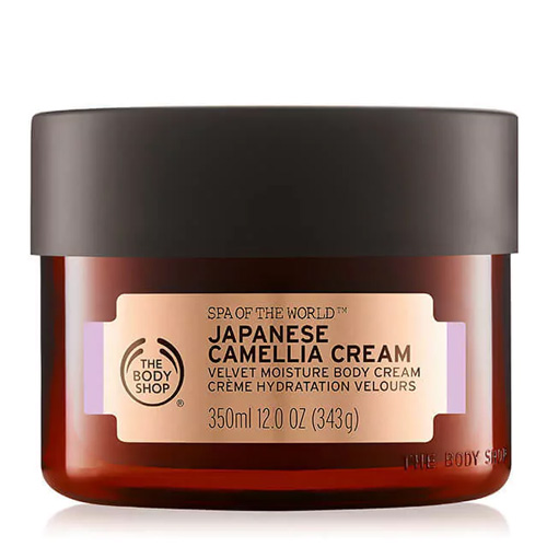 The Body Shop Spa Of The World Body Cream Japonese Camellia