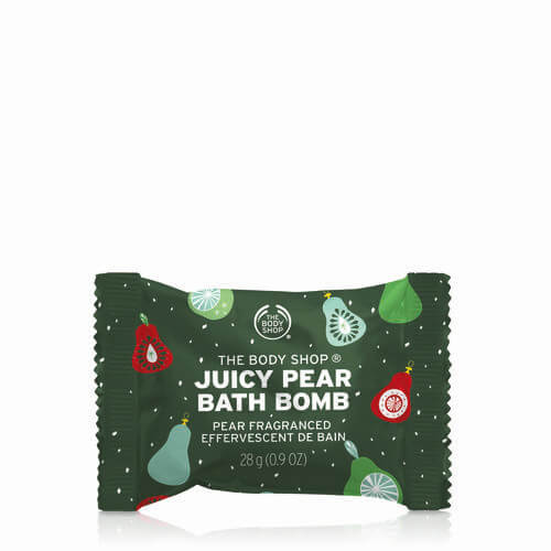Juicy Pear The Body Shop Bath Bomb 28 g