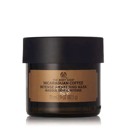 Recipes Of Nature The Body Shop Face Mask Coffee 75 ml