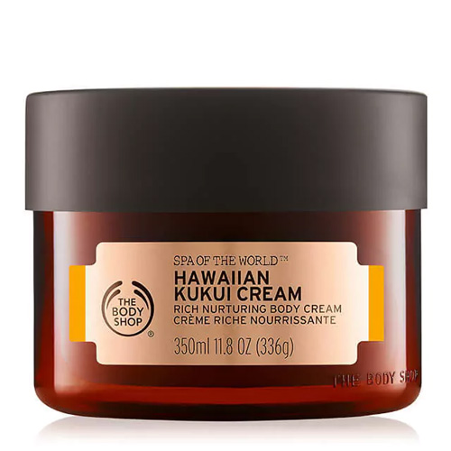 Spa Of The World The Body Shop Body Cream Hawaiian Kukui 350 ml