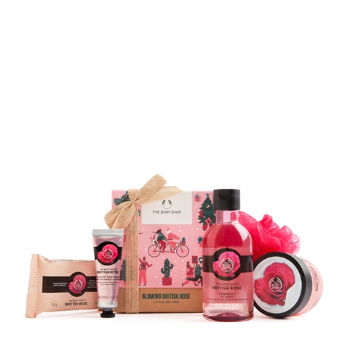 British rose The Body Shop Little gift box British Rose
