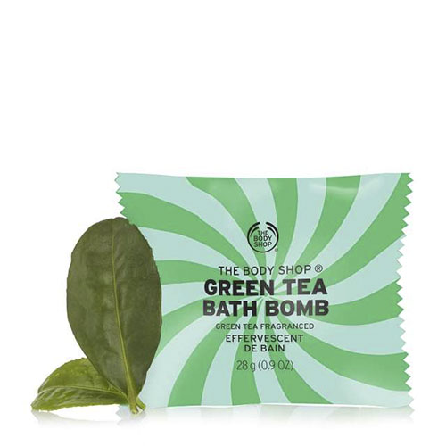 Fuji Green Tea The Body Shop Bath Bomb 28 gr