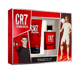 CRISTIANO RONALDO CR7 Coffret - EDT 100ml + Shower Gel 150ml + Afte