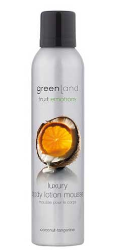 Greenland Fruit Emotions Body Lotion Mousse Coconut-Tangerine