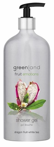 Fruit Emotions Greenland Gel de duche: Pitaia - Chá Branco 600 ml