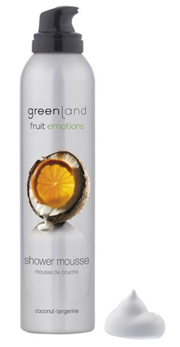 Greenland Fruit Emotions Shower Mousse Coconut-Tangerine