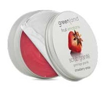 Greenland Fruit Emotions scrub granité 200 ml, strawberry-anise