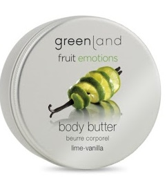 Greenland Fruit Emotions body butter 120 ml, lime-vanilla