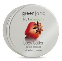 Greenland Fruit Emotions body butter 120 ml, strawberry-anise
