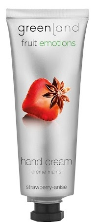 Greenland Fruit Emotions hand cream 75 ml, strawberry-anise
