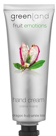 Greenland Fruit Emotions hand cream 75 ml, dragon fruit-white tea