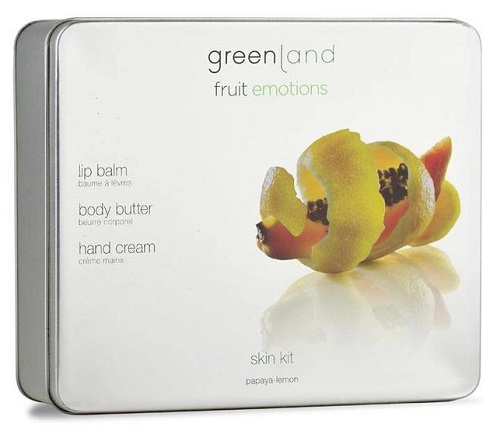 Fruit Emotions Greenland Gift Set Skin kit Papaia-Limão
