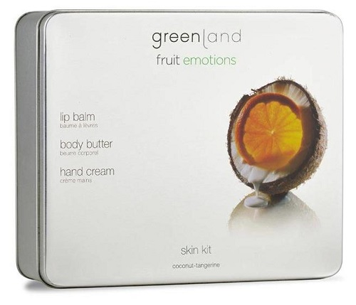 Fruit Emotions Greenland Gift Set Skin kit Coco-Tangerina
