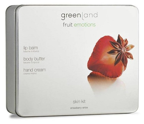 Fruit Emotions Greenland Gift Set Skin kit Morango-Anis