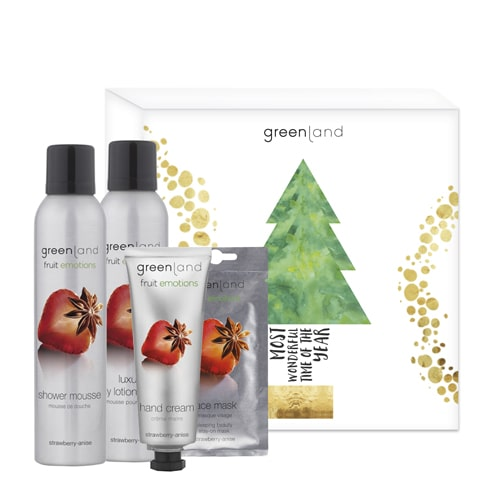 Gift Set Natal Fruit Emotions MorangoAnis Fruit Emotions Greenland