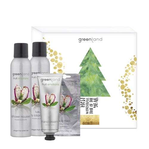 Gift Set Natal Fruit Emotions PitaiaCha Branco Fruit Emotions Greenland