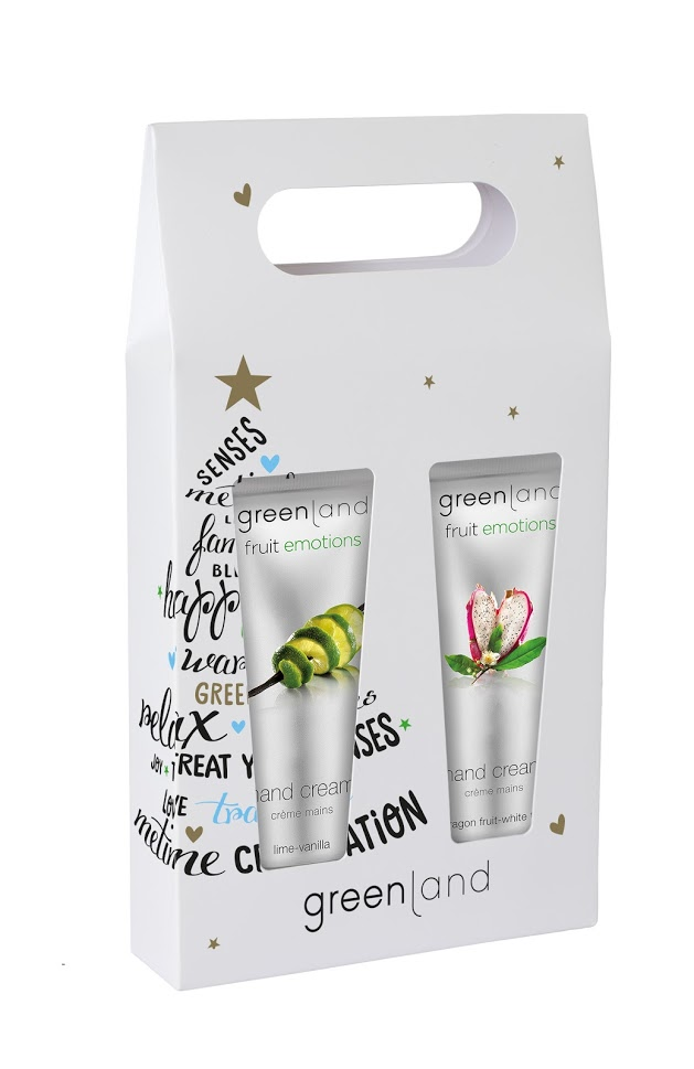 Fruit Emotions - Gift Set Greenland Kit Creme de Mãos 30 +