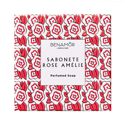 Benamôr Rose Am?lie Sabonete Rose Amélie Perfumed Soap