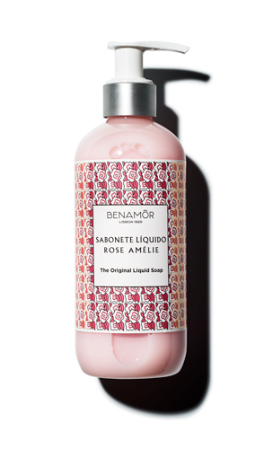 Rose Amélie Benamôr Sabonete Líquido Rose Amélie The Original Liquid Soap 300 ml