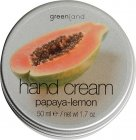 hand cream, papaya-lemon