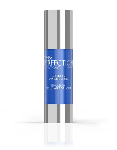 Swiss Perfection Oily Skin Face Care Cellular Day Emulsion
