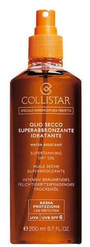 "Collistar Special Perfect Tanning Supertanning ""dry"" Oil, Spf 6  200ml"