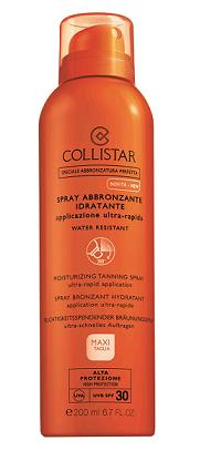 Collistar Special perfect tanning Moisturizing Tanning Spray SPF 30