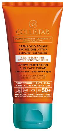 Collistar Special perfect tanning Active Protection Sun Face Cream SPF 50+