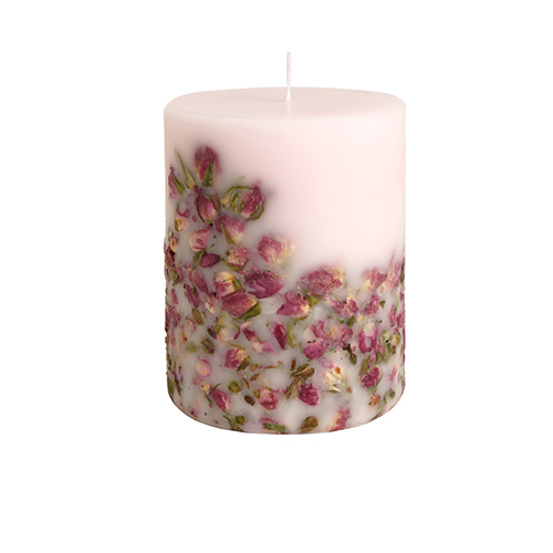 Rose Buds Candle Fruit  Flower Candle Collection