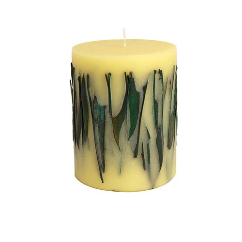 Tea Leaves Candle Fruit  Flower Candles