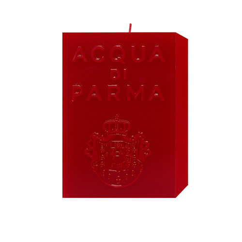 Cube Candle Collection Acqua di Parma Spicy Accord Red Candle 1000 ml