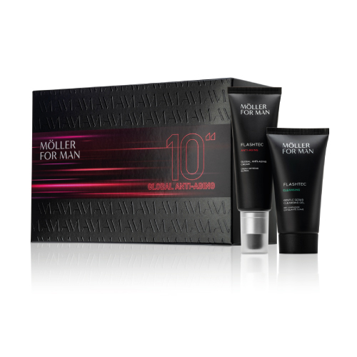 Coffret MFM Anti-Idade Cream 50ml Confort Exfoliance MFM Coffret Global Anti-Aging Cream 50ml + Cleansing Gel 125ml