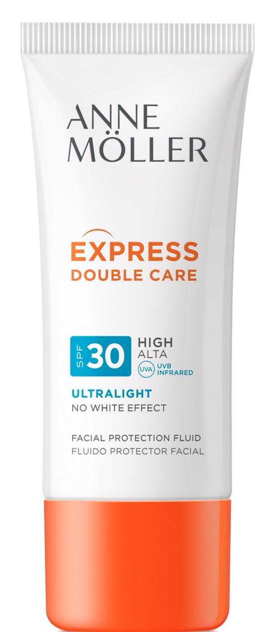 Möller For Man Express Double Care Ultralight Fluide SPF30