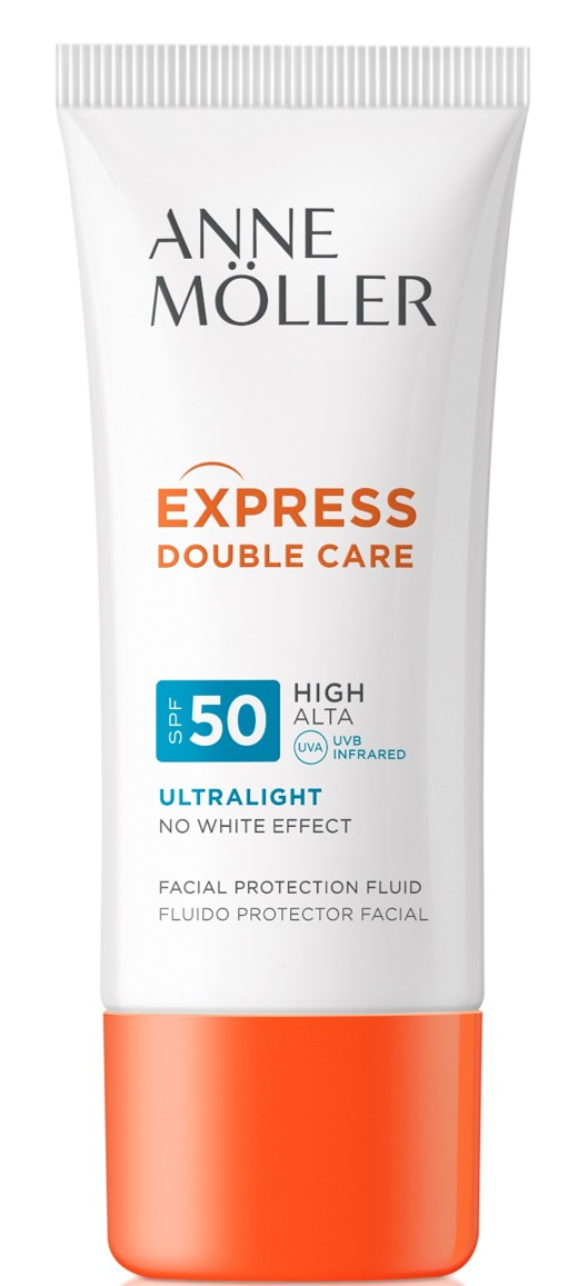 Möller For Man Express Double Care Ultralight Fluide SPF50