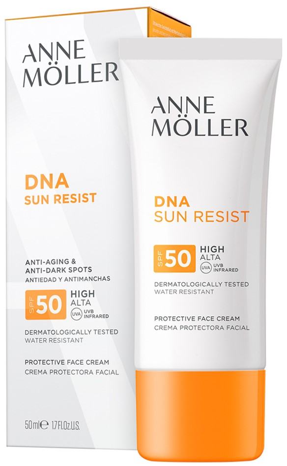 Confort Exfoliance DNA Sun Resist Cream SPF 50