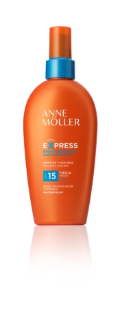 Express Spray Bronzante SPF15