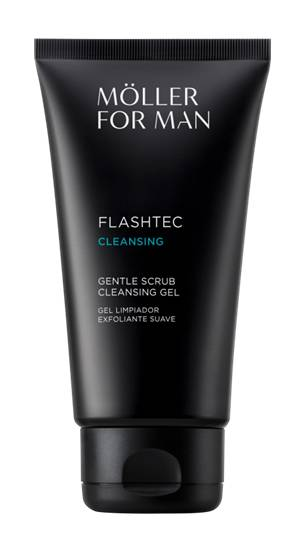 Möller Pour Homme For Man Gentle Scrub Cleansing Gel