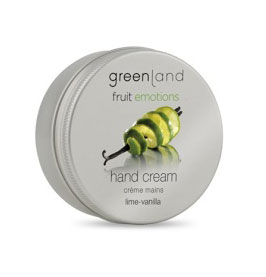 hand cream, lime-vanille Fruit Emotions Greenland