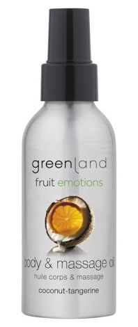Greenland Fruit Emotions Massage Oil - Coco-Tangerina