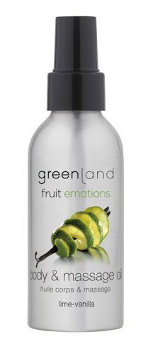 Massage Oil - Lima-Baunilha Fruit Emotions Greenland