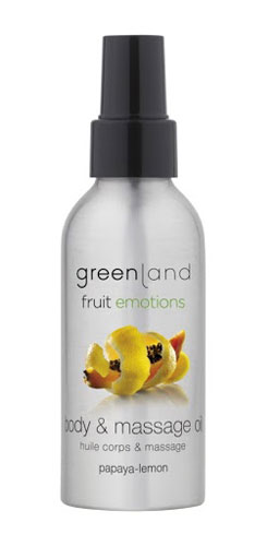 Greenland Fruit Emotions Massage Oil - Papaia-Limão