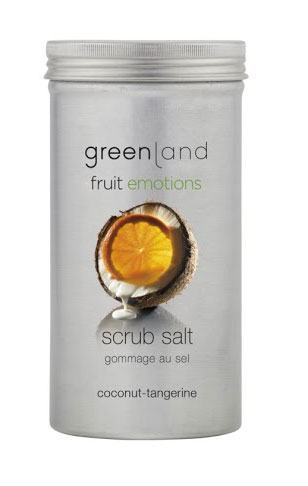 Greenland Fruit Emotions Scrub Salt - Coco-Tangerina