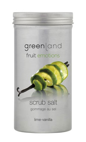 Greenland Fruit Emotions Scrub Salt - Lima-Baunilha