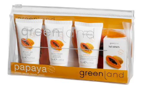 Travel Kit Papaia Fruit Extracts Greenland